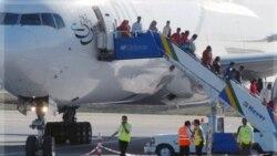 فرود اضطراری دو هواپیمای پاکستانی