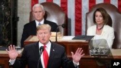 特朗普总统在国会两院联席会议发表国情咨文演说 (2019年2月5 日)