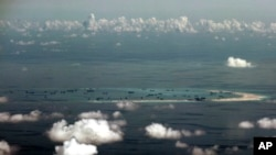 분쟁 대상인 남중국해 파라셀 군도 (자료사진)