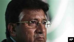 Former Pakistani President Pervez Musharraf (file photo)