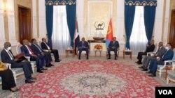 Sudanese President Visits Eritrea September 7 2020