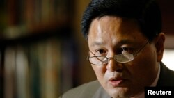 유엔주재 북한대표부의 자성남 대사. (자료사진)