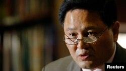 자성남 북한 유엔대표부 대사. (자료사진)