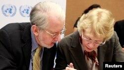 Du berpirsên Komisyona NY ya Vekolîna Sûrîyê