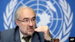 El secretario general de la OMM, Michel Jarraud, dice que las temperaturas globaes han aumentado 1 grado Celsius por encima de la era pre industrial.