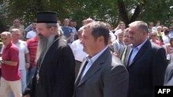 Kosovë: Ministri serb i punëve të brendshme Ivica Daçiç viziton Graçanicën