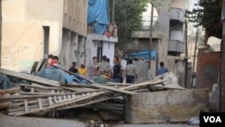 Turkish town of Cizre after 8 days of curfew