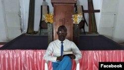 Pastor Gileade da Encarnacao da Igreja Pentecostal Internacional de Angola