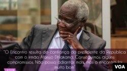 Encontro com Nyusi representa avanços no diálogo para a paz, Dhlakama