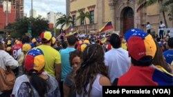 Masu zanga zangar kin jinin Shugaban Venezuela Nikolas Maduro