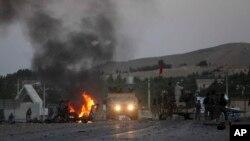 Le consulat américain de Herat après l'attaque