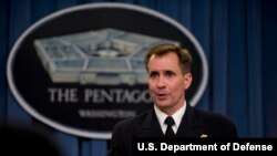 Juru bicara Pentagon, Laksamana John Kirby
