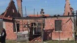 Digjet një shtëpi serbe në Dresnik të Klinës