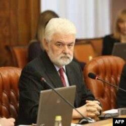 Premijer Mirko Cvetković na sednici Vlade