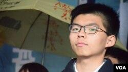 香港众志秘书长黄之锋(资料照片)