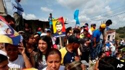 وینزویلا میں صدر کے خلاف مظاہرے اپریل کے آغاز سے جاری ہیں۔ 28 اپریل 2017