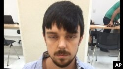 This Dec. 28, 2015, photo released by Mexico's Jalisco state prosecutor's office shows a youth identified as Ethan Couch after he was taken into custody in Puerto Vallarta, Mexico.