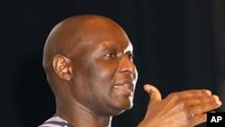 Olara Otunu, kiongozi wa chama cha Uganda Peoples Congress, mgombania kiti cha rais katika uchaguzi wa 2011