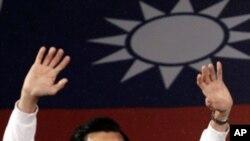 台灣總統馬英九當選連任