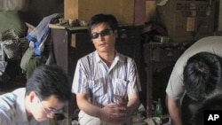 維權盲人律師陳光誠。