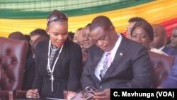 VaConstantino Chiwenga naAmai Marry Mubayiwa
