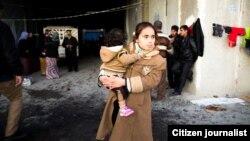 داعش اقلیت ایزدی عراق را مجبور به ترک روستا های شان می کرد