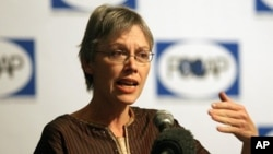 Direktur Institute for Policy Analysis of Conflict (IPAC) Sidney Jones (foto: dok).