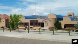Ganado High School, located on the country's largest Indian reservation, loses about 100 students per year.