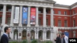 Выставка, посвященная российско-северокорейской дружбе в московском Музее современной истории