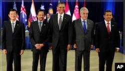 九國領導人達成環太平洋經濟戰略伙伴關係的框架協議