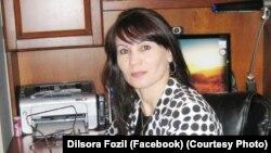 Dilsora Fozil - o'qituvchi, siyosatshunos va shoira
