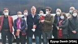 Parlementerên HDPê li Enqerê