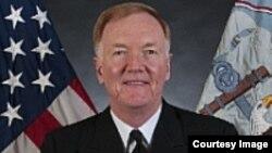 Вице-адмирал Джеймс Фогго. Photo from www.navy.mil
