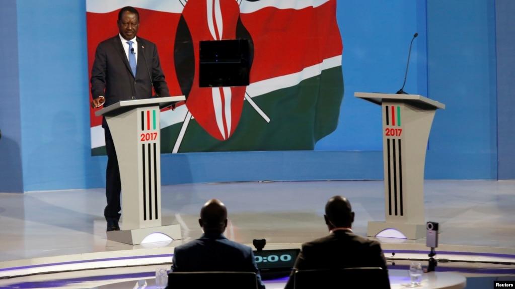 Image result for President Kenyatta fails to show up for TV Debate