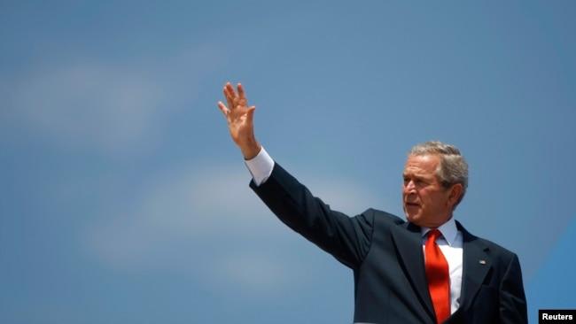 Cựu Tổng thống George W. Bush trong bức ảnh chụp năm 2008.