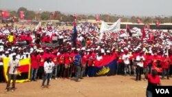 comicio do MPLA em Malanje