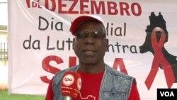 Em guerra contra a SIDA.Supervisor provincial do programa de luta contra a SIDA em Malanje Júlio Borges Saquesseque