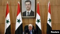وەزیری دەرەوەی سوریا وەلید موعەلیم