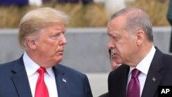 Arhiv - Donald Trump i Recep Tayyip Erdogan