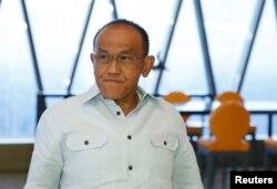 Ketua Umum Partai Golkar, Aburizal Bakrie dalam wawancara di Jakarta 12 December 2013 (Foto: dok).
