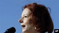 ນາຍົກລັດຖະມົນຕີອອສເຕຣເລຍ ທ່ານນາງ Julia Gillard