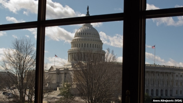 A View of the Congress from Russell Senate Office Building