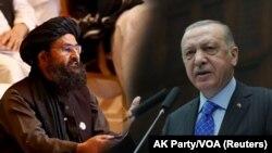 ښاغلي اردوغان وویل چې باور لري له طالبانو سره یوې موافقې ته رسېدلای شي