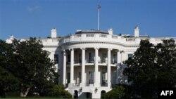 نمایی از کاخ سفید آمریکا، واشنگتن، ایالات متحده