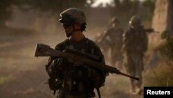 아프가니스탄 주둔 미군 병사들. (자료사진)