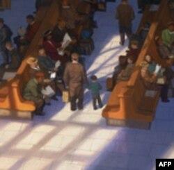 Slika čekaonice Vilijama Loua