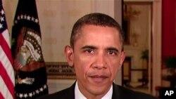 美國總統奧巴馬決心推動經濟復甦。