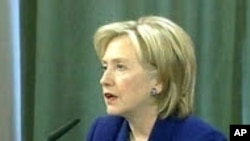 Clinton: Not Time Yet for Iran Sanctions