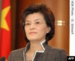 中国外交部发言人姜瑜
