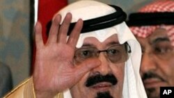 Saudi King Abdullah (file photo)